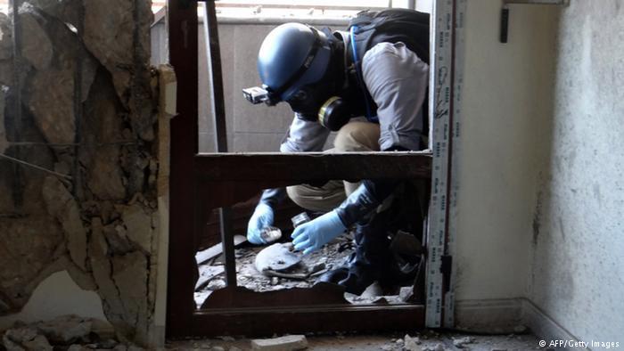 USA, VB a F zaútočí na Sýrii pokud použije chemické zbraně v provincii Idlíb