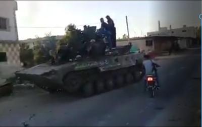 Bývalí syrští rebelové vstupují do Ruskem vytvářených jednotek V-Corps