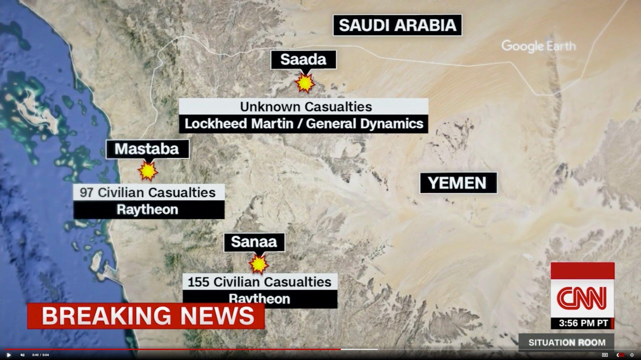 CNN dokumentuje zabíjení civilistů v Jemenu americkými zbraněmi