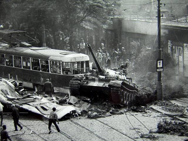 Smutné výročí – 50 let od zahájení operace DUNAJ – napadení a okupace Československa