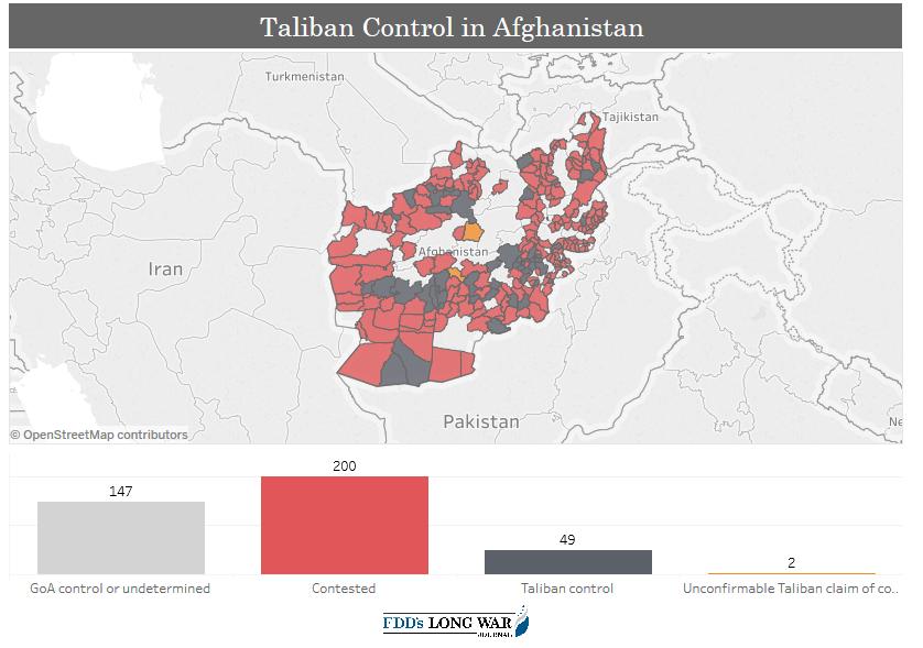 Vojenská situace v Afghánistánu se stále zhoršuje