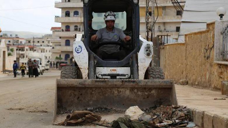 Syrská kontroverzní opoziční organizace Bílé Helmy začala oficiálně pracovat v rámci turecké okupace v Afrinu