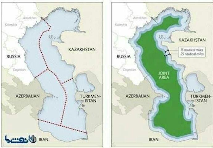 """Írán se snaží zamaskovat """"výprodej"""" Kaspického moře Rusku…"""