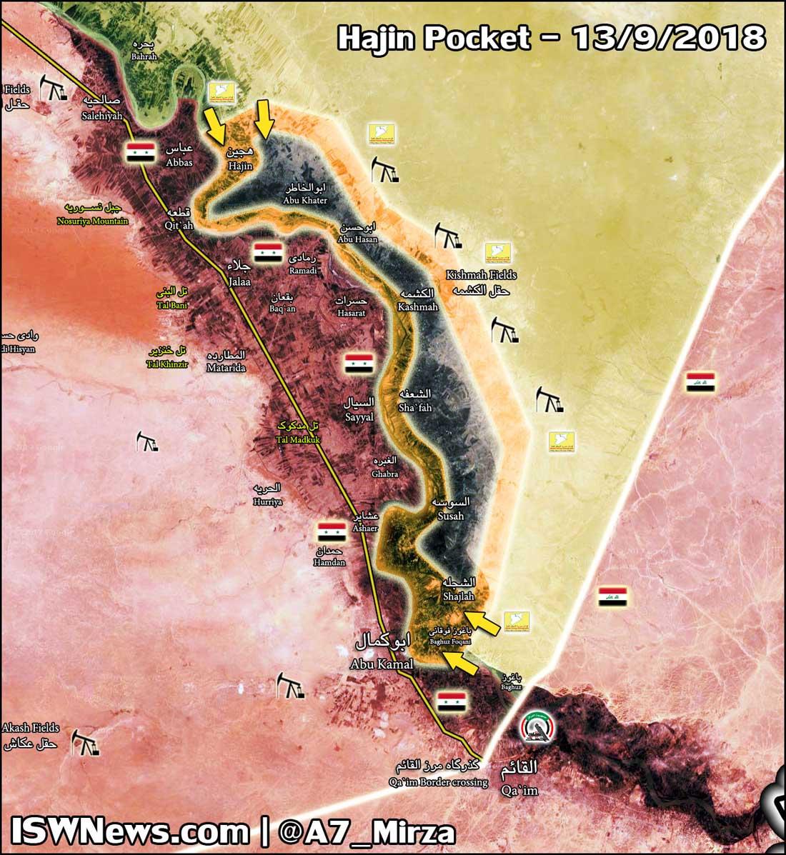 SDF připravuje finální útok na poslední útočiště IS – tzv. kapsu Hajin v jihovýchodní Sýrii