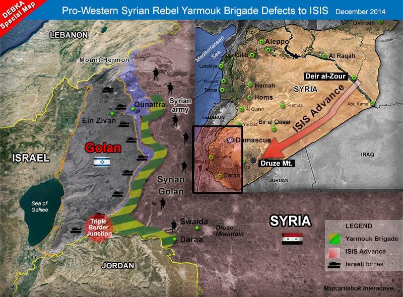 Izrael tajně vyzbrojil a financoval minimálně 12 skupin syrských rebelů