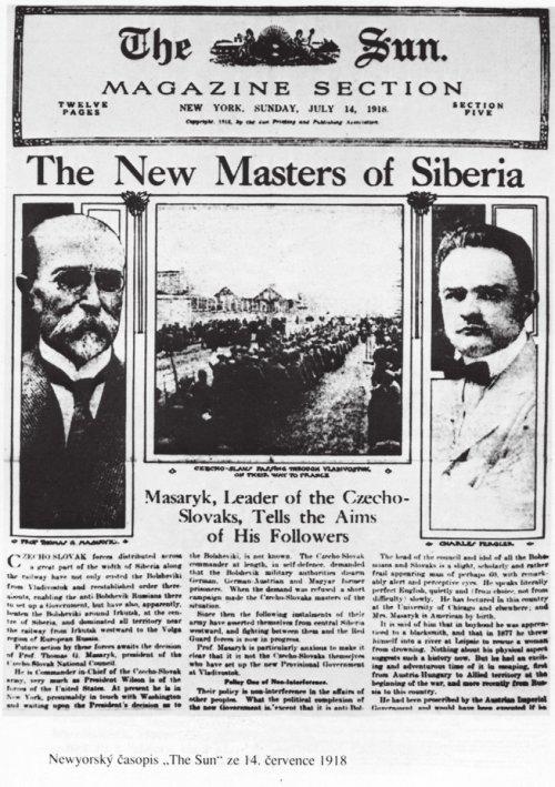 Před sto lety ovládli českoslovenští legionáři většinu Ruska