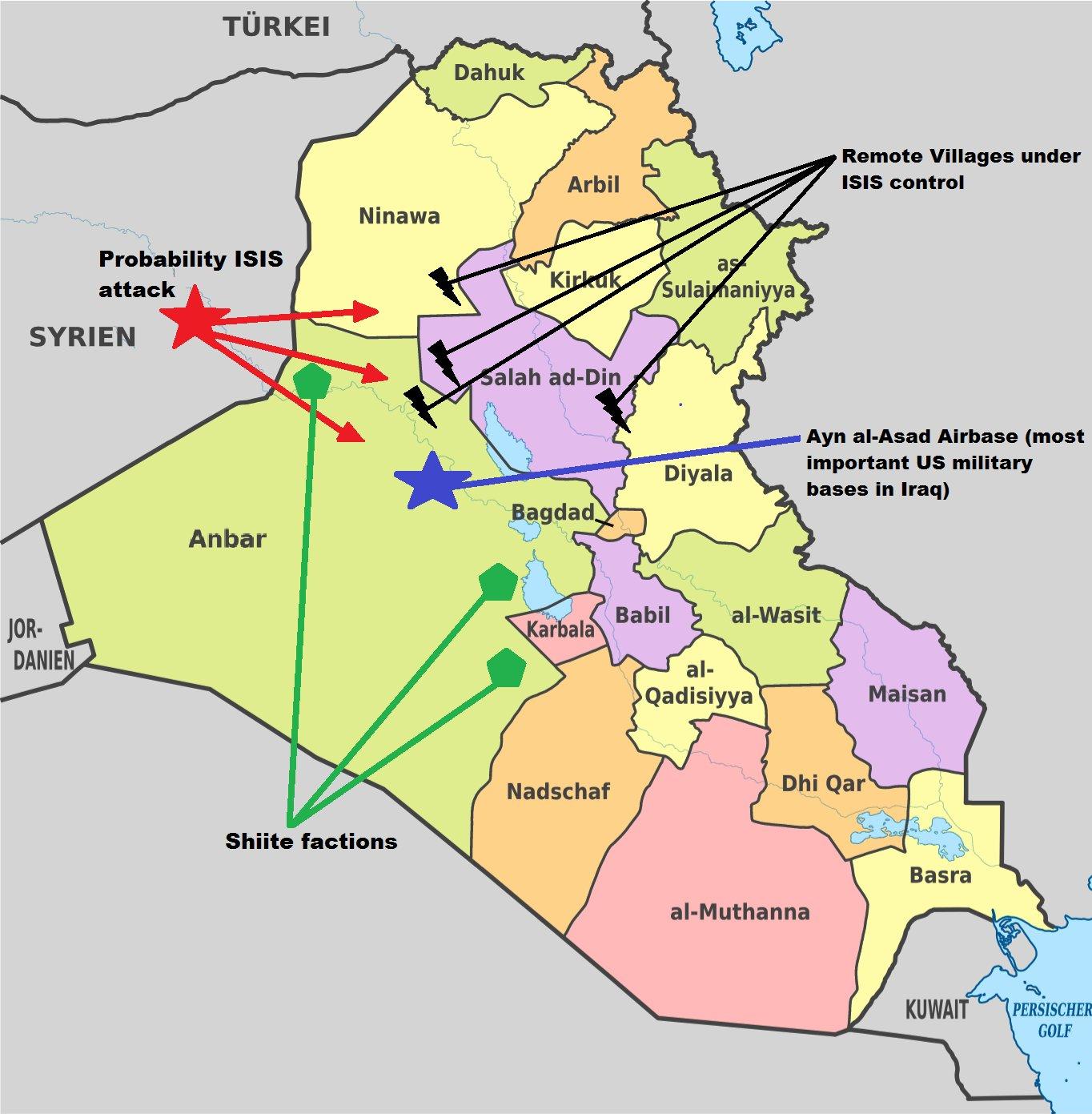 Irák se připravuje na ofenzívu IS ze tří směrů