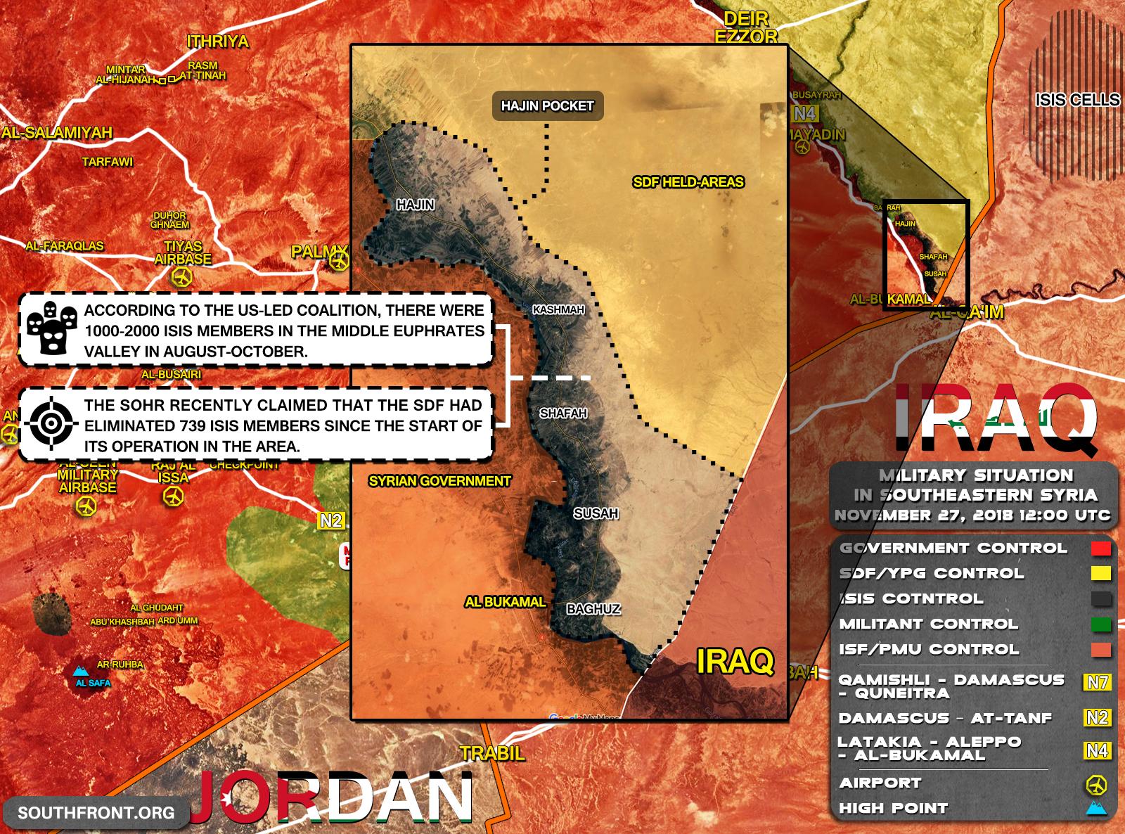 Značné ztráty jednotek SDF v boji proti IS v oblasti Deir Ezzor