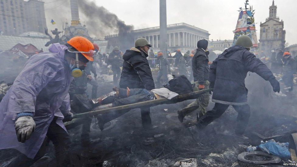 Dnešní noc před 5 lety začaly protesty na kyjevském Majdanu