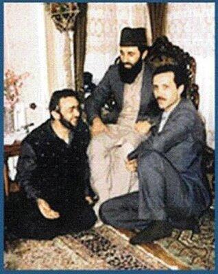 Gulbuddín Hekmatjár s tureckým presidentem Recep Tayyip Erdoganem