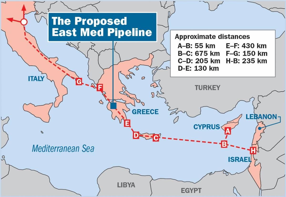 Izrael vybuduje podmořský plynovod do jižní Evropy