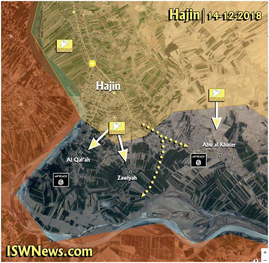 SDF obsadili 90% města Hajin – jihovýchodní Sýrie