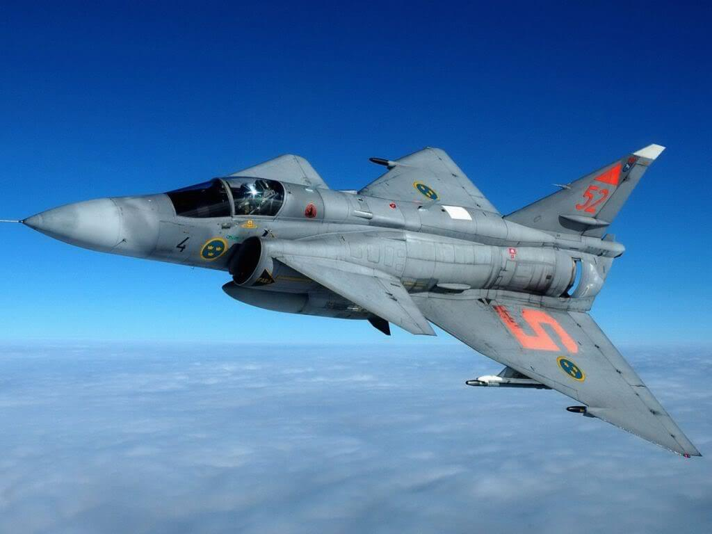 Švédský Saab Viggen měl na mušce Lockheed Blackbird