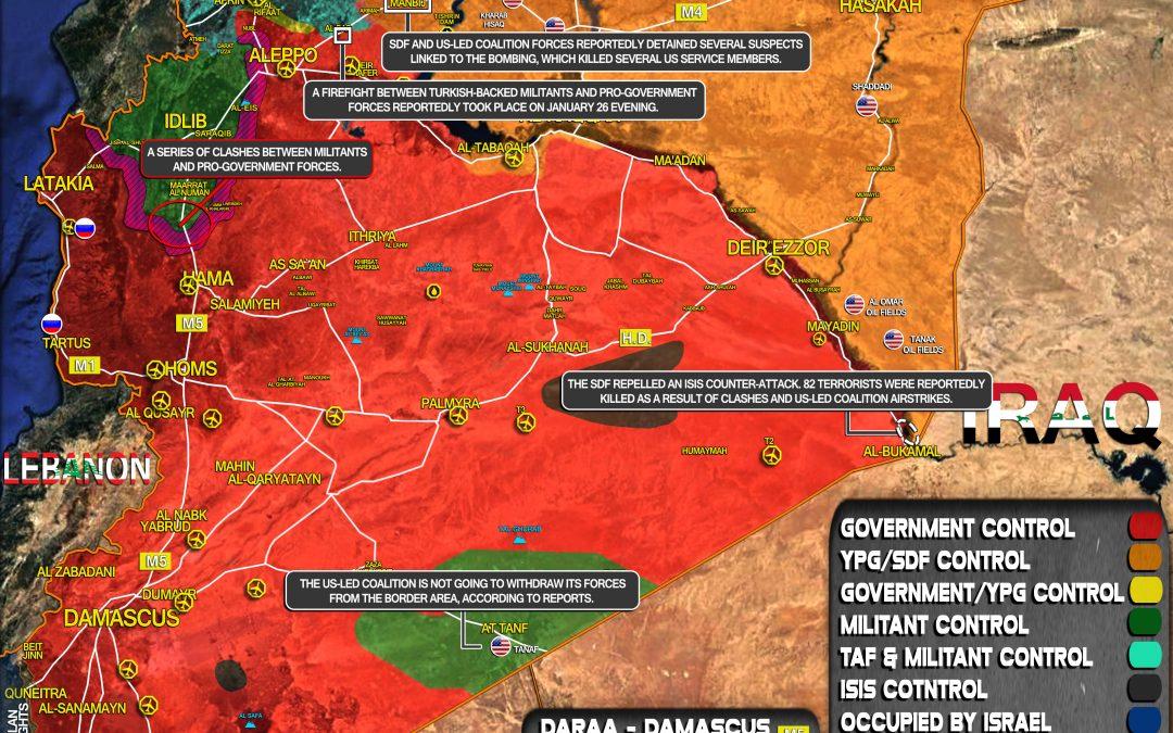 Vojenská situace v Sýrii