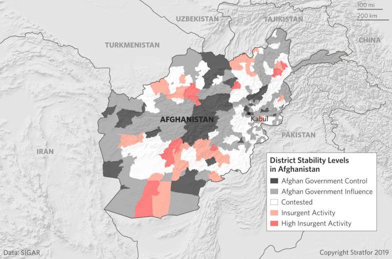 Vojenská situace v Afghánistánu