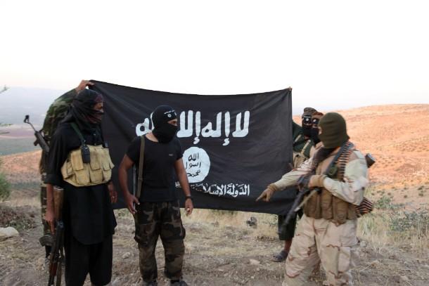 """Speciální komando IS """"Point 11"""" vyjednává s SDF bezpečný odchod z obklíčení"""