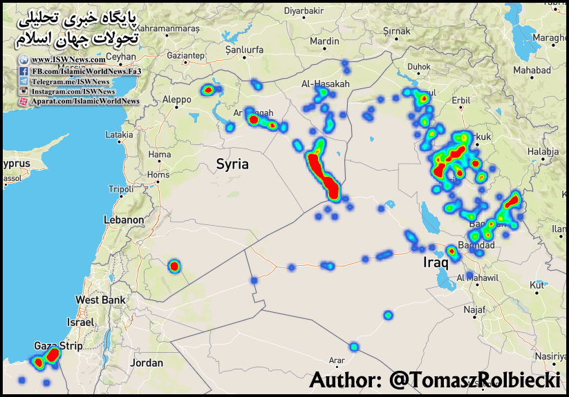 Aktivity IS na blízkém a středním Východě