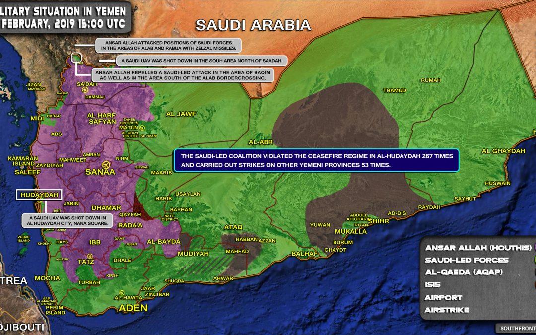 Vojenská situace v Jemenu