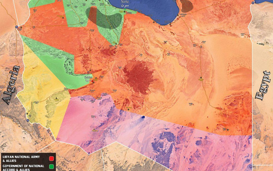 Vojenská situace v Libyi – maršál Haftar obsadil největší ropná pole v zemi
