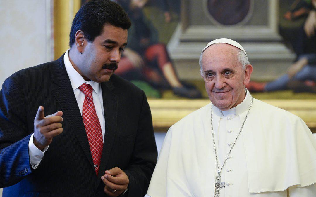Maduro prosí Papeže o pomoc se situací ve Venezuele