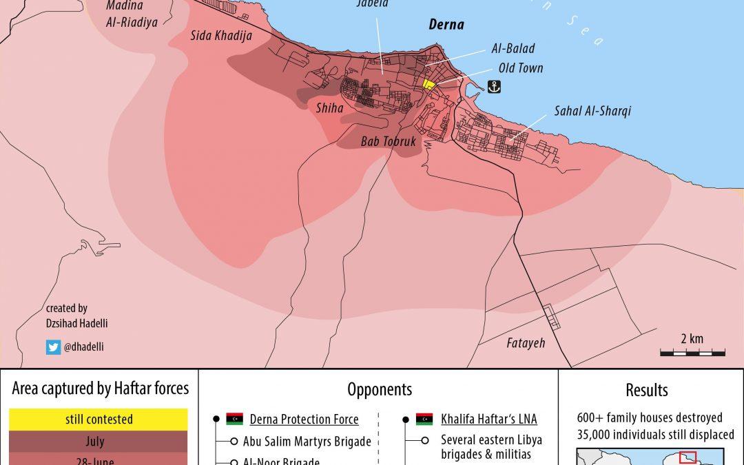 Bitva o libyjské město Derna