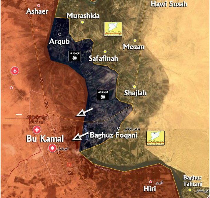 IS zahájil ofenzívu proti SAA s cílem probít se na západ.