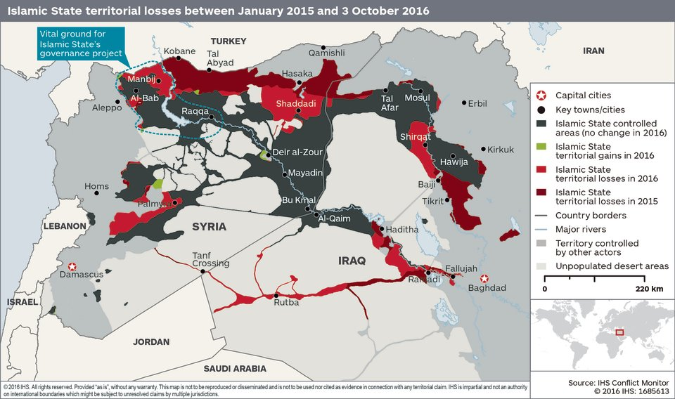 Vzestup a pád Islámského státu v Iráku a Levantě