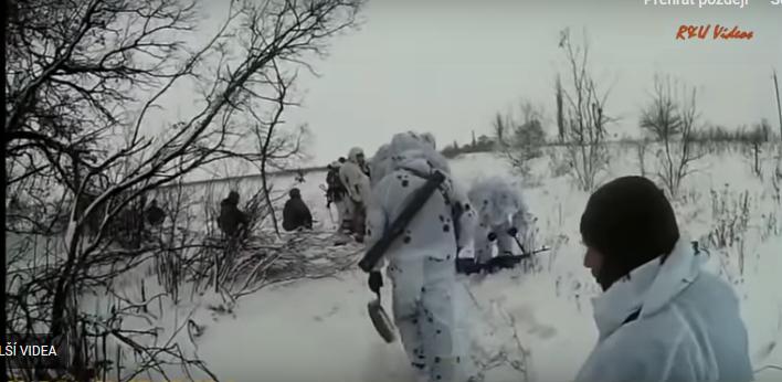 Ukrajinská diverzní akce selhala