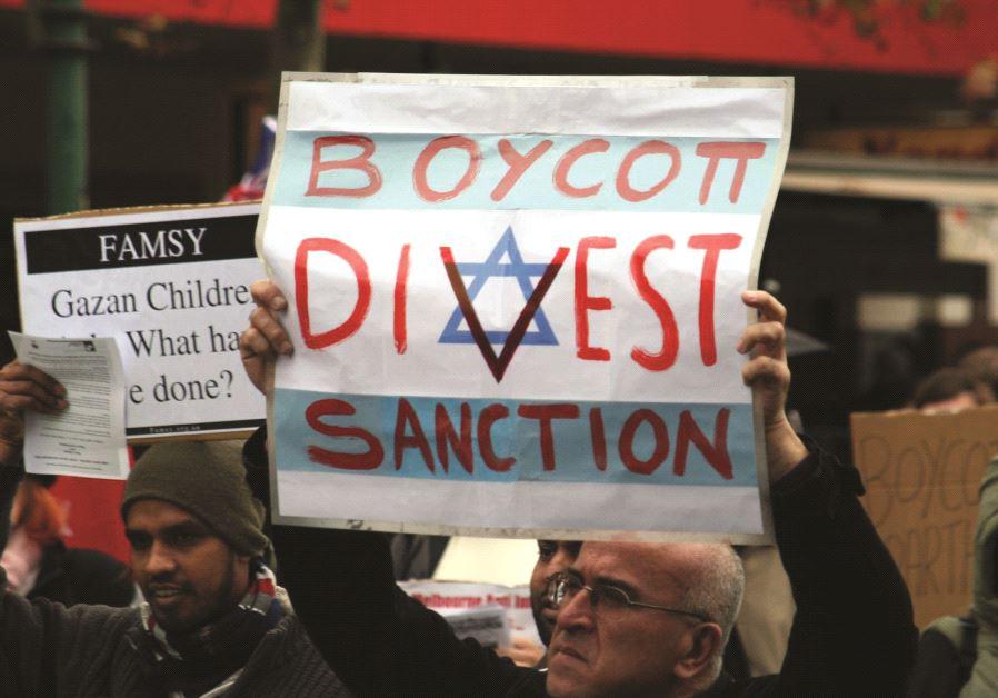 Německo ruší antiizraelské organizaci BDS bankovní účty