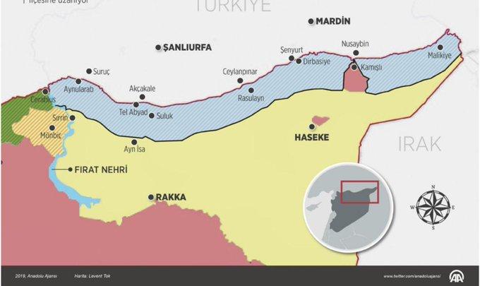 USA požádaly západní spojence, aby rozmístili jednotky v severní Sýrii.