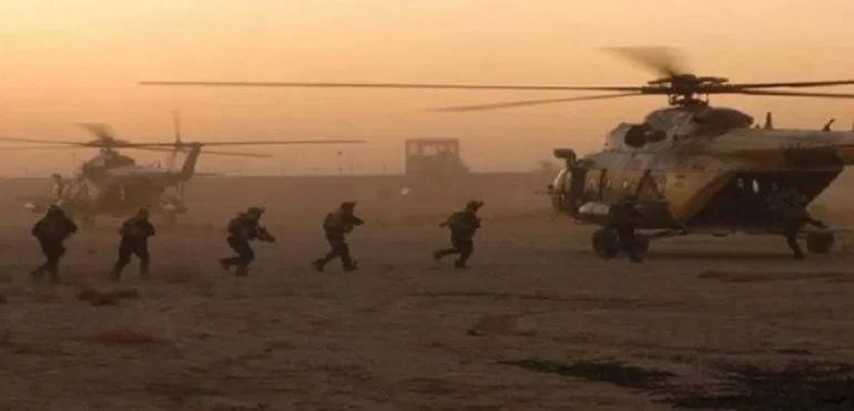 US speciální jednotky provedly výsadkové operace v oblasti Deir Ezzor
