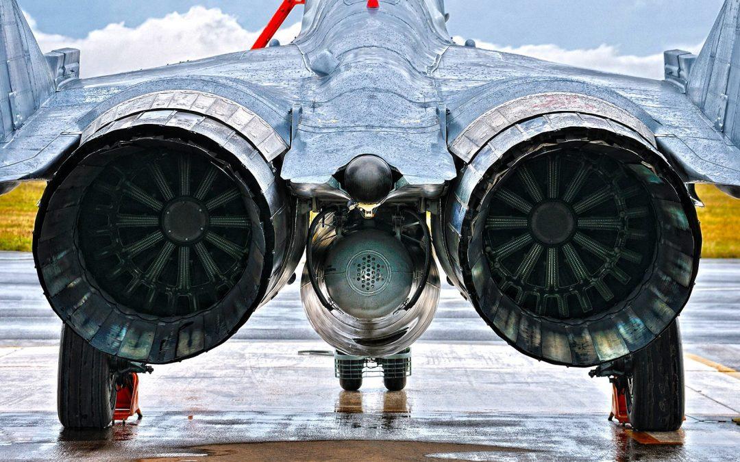 Motory Klimov RD-33 stíhačky MIG-29