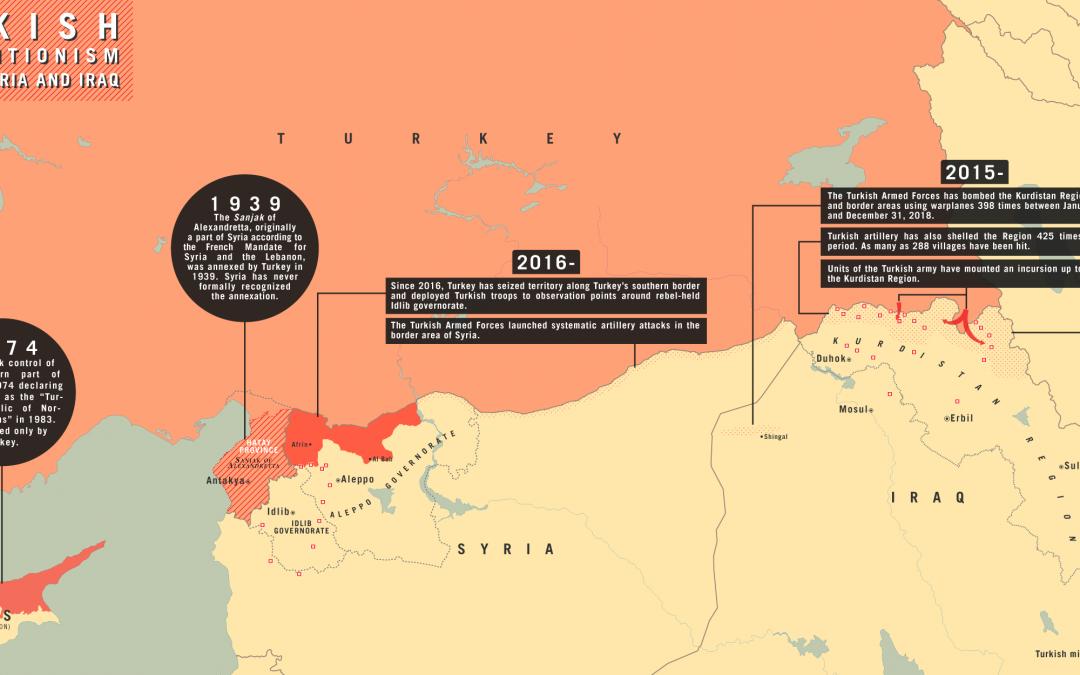 Mapa tureckých anexí