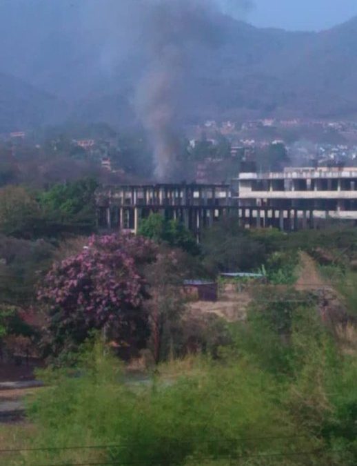 Další exploze transformátoru v Caracasu