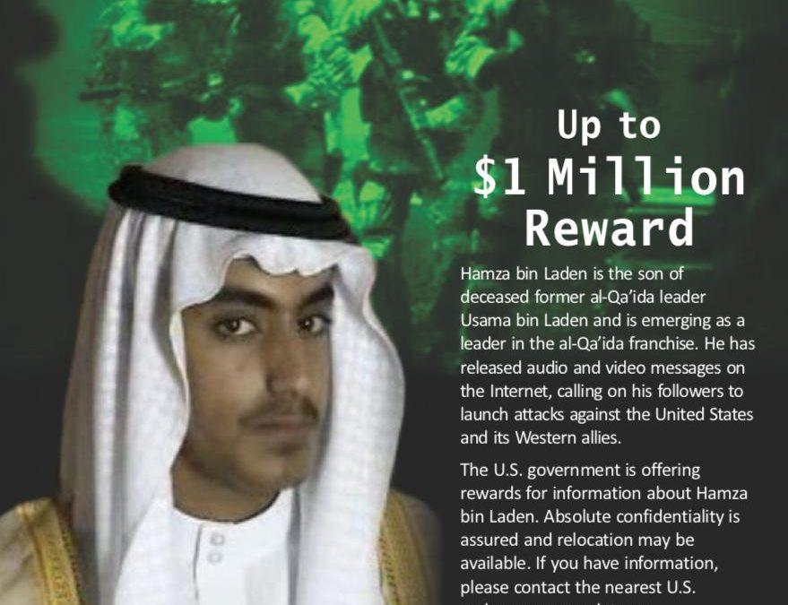 US považují Hamzu bin Ladina za nového vůdce Al-Kaidy