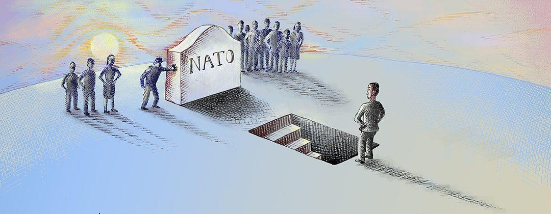 NATO umírá ale ne vinou Donalda Trumpa