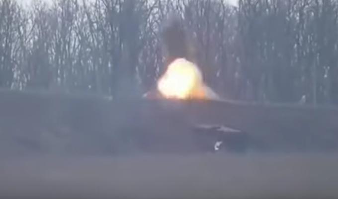 Ukrajinská armáda: PTŘS proti separatistům