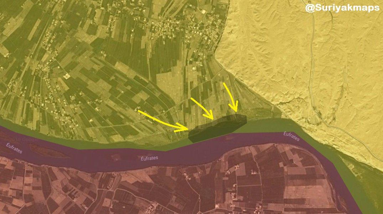SDF obsadily většinu tábora Baghuz