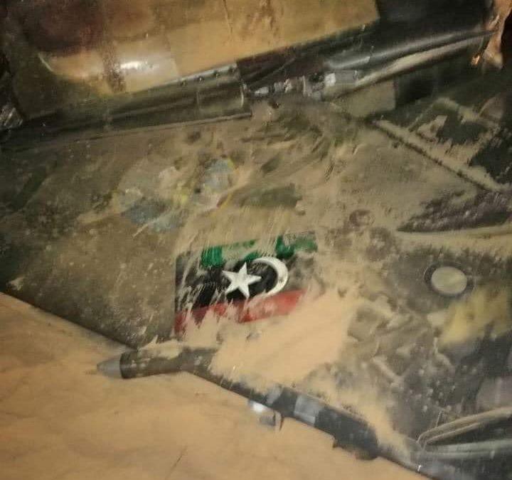 Haftarova LNA sestřelila poslední Mirage GNA