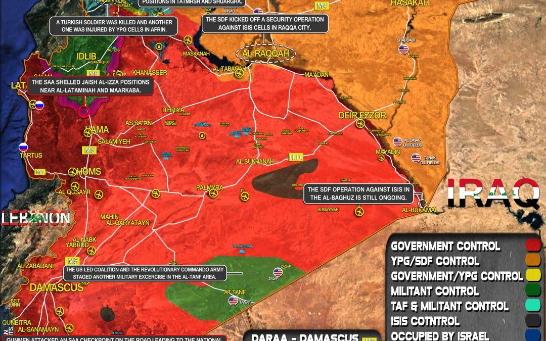 Celková bezpečnostní situace v Sýrii