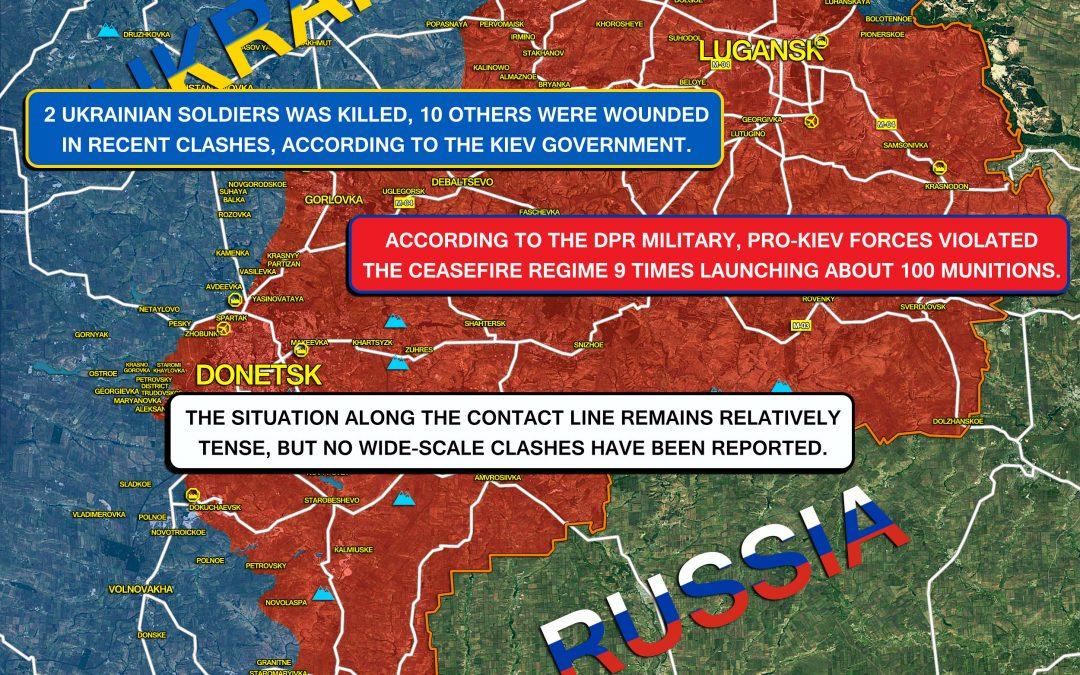 Vojenská situace na východní Ukrajině