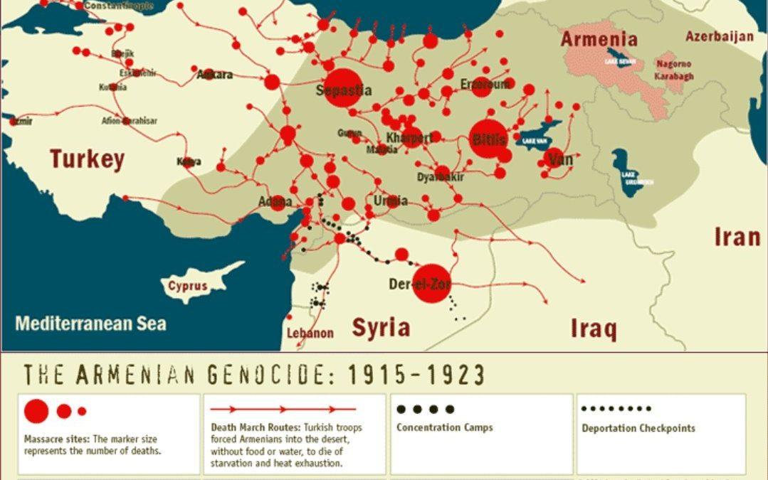 Genocida Arménů