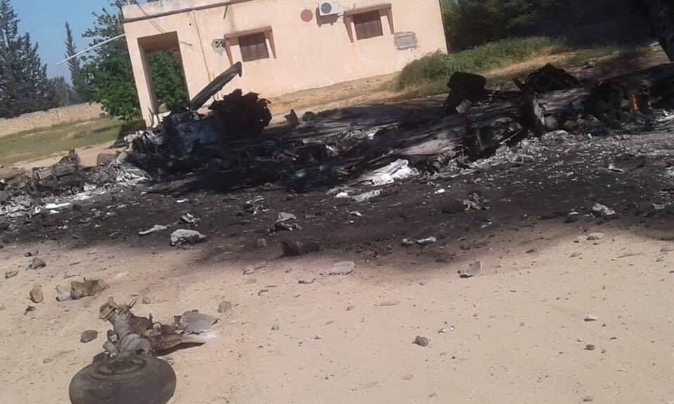 MIG-21 LNA sestřelen nad Tripolis