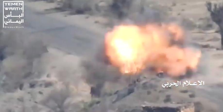 Útoky řízenými střelami proti arabské koalici v Jemenu