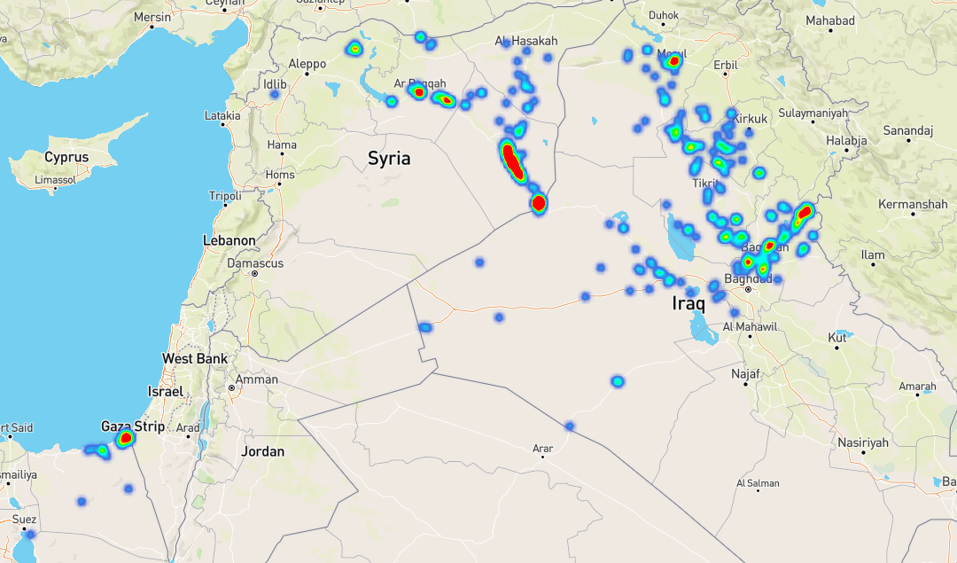 Mapa aktivity IS