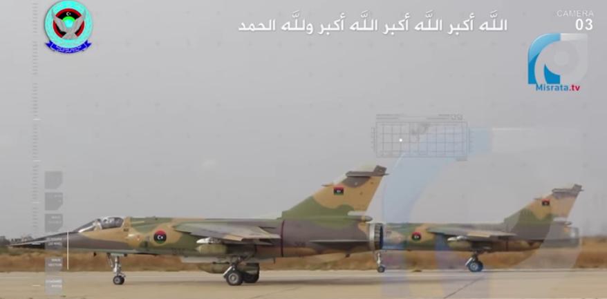 Letouny libyjské vlády bombardují základny LNA