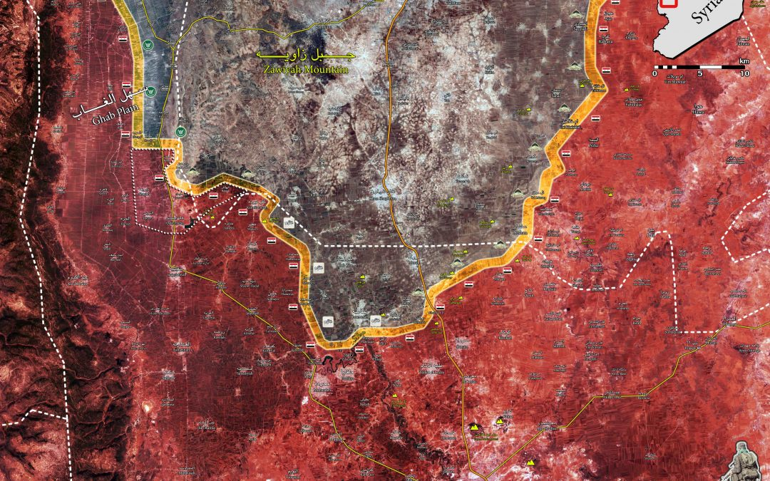 SAA dobyla strategické město Qalaat Madiq