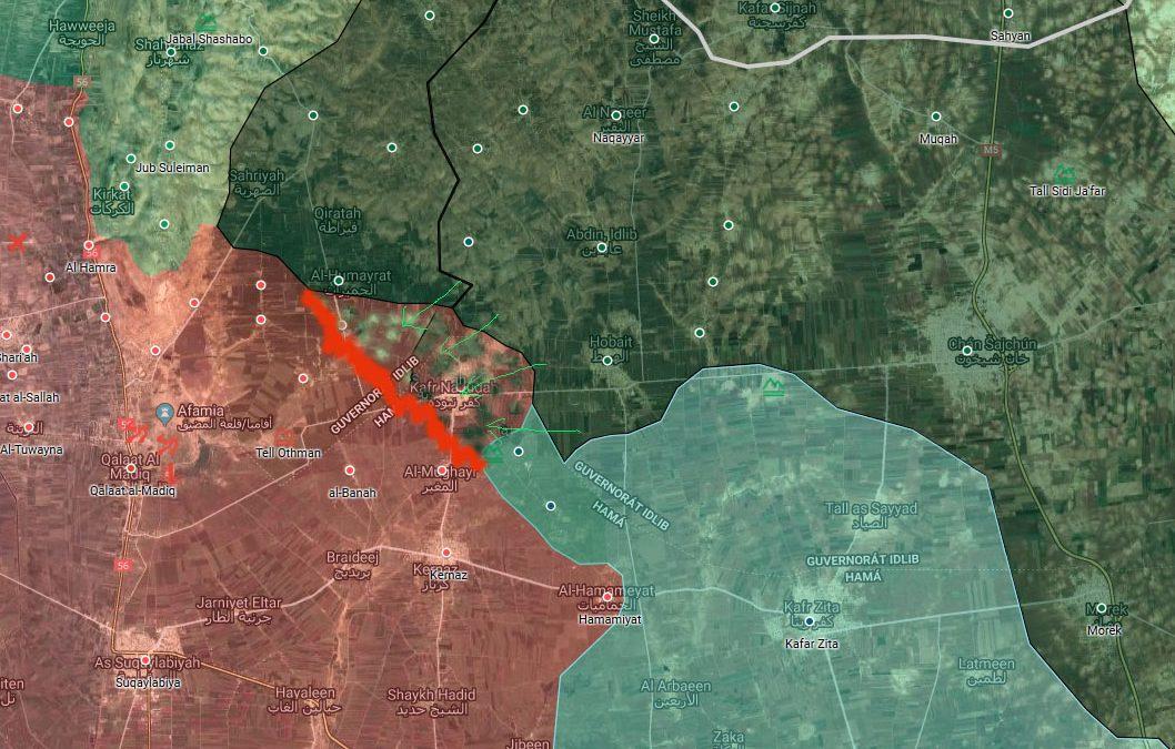Idlib: úspěšný protiútok HTS