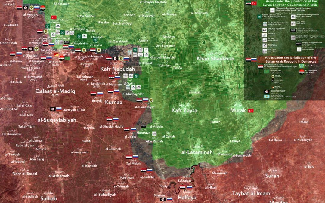 Vojenská situace v severozápadní Sýrii