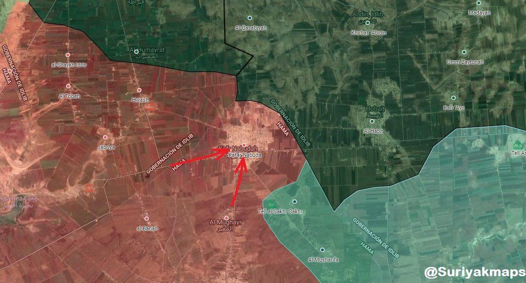 Masivní turecké dodávky zbraní Al-Kaidě nezabránily opětovnému dobytí Kafr Nabuda